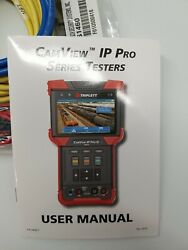 Triplett Camview Ip Pro-d 8073 Ip And Analog Camera Viewer Multimeter Tester