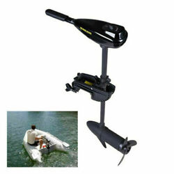 58lb Thrust Electric Trolling Motor Outboard Engine For Fishing Boat 12v 612w Us