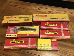 Trix Express West Germany Track Lot 73 Pieces