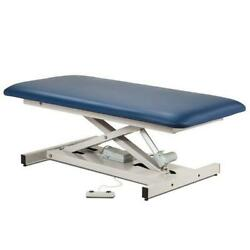 Clinton Open Base Extra Wide Bariatric Straight Top Power Table