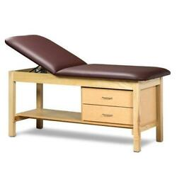 Clinton Classic Series Treatment Table With Drawers