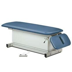 Clinton Shrouded Space Saver Power Table With Drop Section
