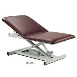 Clinton Open Base Extra Wide Bariatric Power Table With Adjustable Backrest