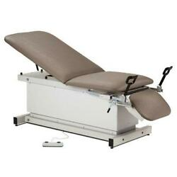 Clinton Shrouded Power Table With Stirrups Adjustable Backrest And Footrest