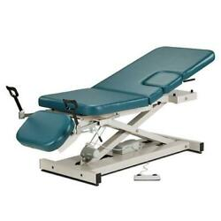 Clinton Open Base Multi-use Power Imaging Table With Stirrups