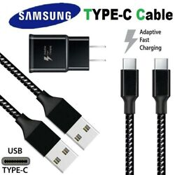 3/6/10ft Fast Charger Type C Usb-c Cable For Oem Samsung Galaxy S10 S9 S8 Note 8