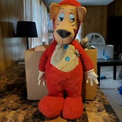 Vintage Knickerbocker 1959 Rubber Face And Hands Doll Huckleberry Hound Plush