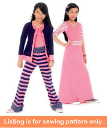 Sewing Pattern - Sew Girl Clothes Clothing Tween Teen Plus Size Shirt Pants 6985