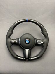 Bmw F30 F20 F22 F32 F33 X5 F15 X6 F16 Steering Wheel Carbon Fiber Leather