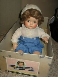 """14"""" Antique Madame Alexander Composition """"butch"""" Baby Boy Doll- Mint In Box Tag"""
