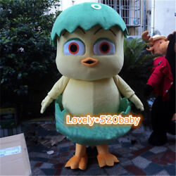 Easter Chicken Egg Mascot Costume Chick Animal Cosplay Party Fancy Dress Adults