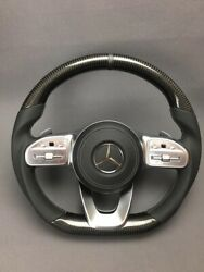 Mercedes W463a Steering Wheel Carbon Fiber Leather