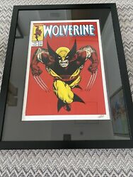 Signed Limited Edition Print - Wolverine Marvel Signed By Stan Lee