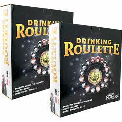 2pk Shot Glass Roulette Drinking Game Set Comes With 2 Balls And 16 Shot Glasses