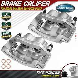 2x Brake Caliper Assembly For Dodge Ram 2500 2001-2002 Pickup Rear Left And Right