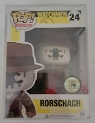 Funko Pop Movies 24 - Bloody Rorschach Exclusive Sdcc 2013 Authentic