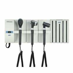 Adc Adstation 56802-5 3.5v Wall Pmv Otoscope/coax Plus Ophthalmoscope/dermascope