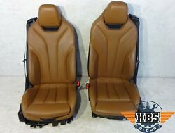 Bmw F33 2015 Cabriolet Seats Interior Leather Seat Back Seat 83874831 Complete