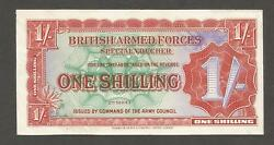 United Kingdom 1 Shilling N.d. 1948 Au P-m18a Armed Forces 2nd Series