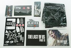 The Last Of Us Ii 2 Pins Bracelet Art Book Lithograph Tote Bag Stickers Keychain