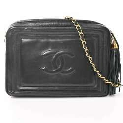 Auth Womenand039s Leather Shoulder Bag Black