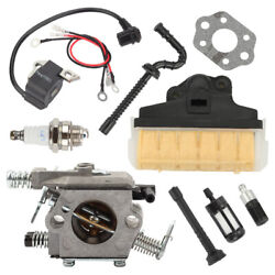 Carburetor Carb Air Filter Chainsaw Set For Stihl Ms210 Ms230 Ms250 021 023 025