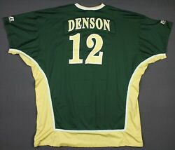 Tim Denson Colorado State Rams Team Game Issued Warm-up Shooting Jersey 2xl