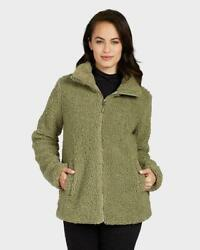 New 32 Degrees Womens Teddy Sherpa Full Zip Jacket | Variety Size And Color | K42