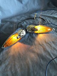 Art Deco Vintage Antique Yankee Arrow Turn Signal Lightshot Rat Rod Truck Chevy