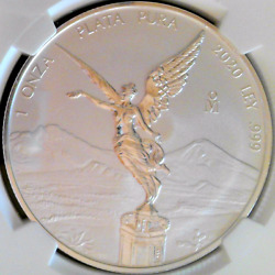 2020 Mexico 1oz Silver Libertad Reverse Proof Pf-70 Pf70 Ngc Early Release Er