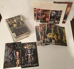 Huge X-files Set Of 63 0-41 With Comics Numbered Editions Annuals Collections
