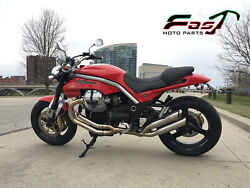 Moto Guzzi Griso 1100 1200 8v Mass Mid Full Exhaust System 2in2 Inox Thesis