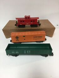 American Flyer Freight And Caboose 931 And 802
