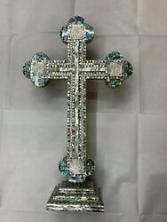Mother Of Pearl Cross - The Four Evangelists - Holy Land