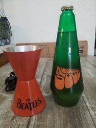 Vintage Beatles Collectible The Beatles Rubber Soul Groovy Lava Lamp No Top