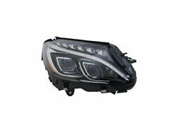 Left - Driver Side Headlight Assembly For 2015 Mercedes C350 H647fb