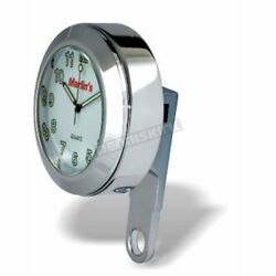 Marlinand039s White Face Clock For Brake Or Clutch Perch Clamp - 190101