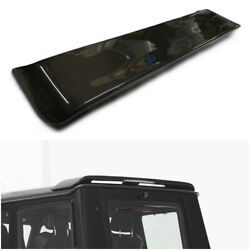 Mercedes Benz W463 G Wagon Class Carbon Fiber Rear Roof Spoiler With Stop Signa