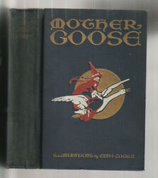 Mother Goose's Nursery Rhymes. Illustrated By Edna Cooke 1930