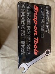 Snap On Made In Usa Metal Sign 13andrdquox24andrdquo
