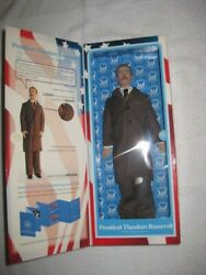 President Theodore Roosevelt Talking Political Action Figure Toy President