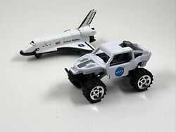 """Nasa Space Shuttle And Lunar Rover Model Toy Die-cast 3"""""""