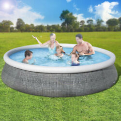 Bestway 13ft X 33in Round Above Ground Swimming Pool With Filter Pump 57375e