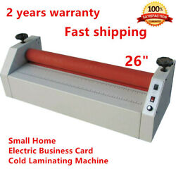 Hotsale 26 Small Home Electric Business Card Cold Laminator Laminating Machine