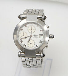 Choppard Imperiale 37mm Automatic Chronograph Men's Watch Needs Parts/service
