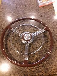 1937 Buick Banjo Steering Wheel