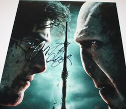 Daniel Radcliffe Signed Harry Potter And The Deathly Hallows 2 Movie Poster Coa