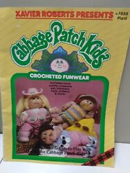 Vintage Cabbage Patch Doll Crochet Pattern Book