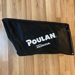 Poulan Powered By Honda Push Lawn Mower Grass Catcher Bag And Frame - Never Used