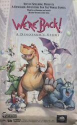 We're Back, A Dinosaur's Story - Vhs Home Movie Video Tape